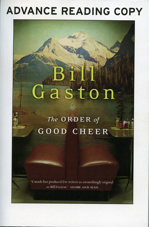 Advance copy of The Order Of Good Cheer