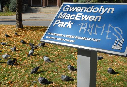 Gwendolyn MacEwen park