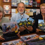 Double signing with author Jean Barman and editors Nick Russell and Brenda Clark
