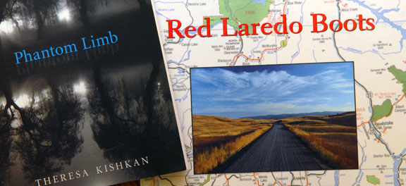 Theresa Kishkan - Red Laredo Boots and Phantom Limb - Interview