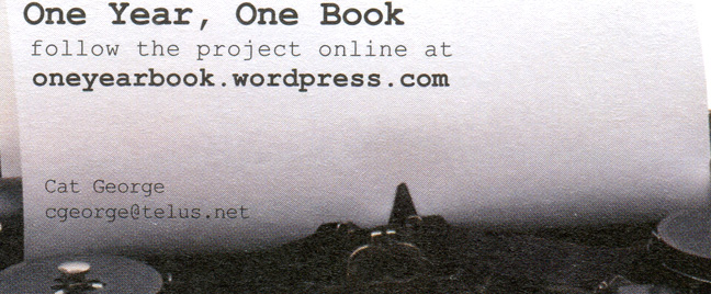 one-year-one-book