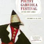 Poetry Gabriola Festival - November 12 - 15